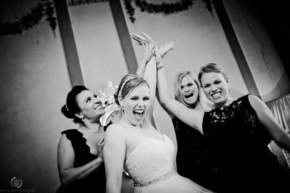 Bryllupsfoto ved Nyborg