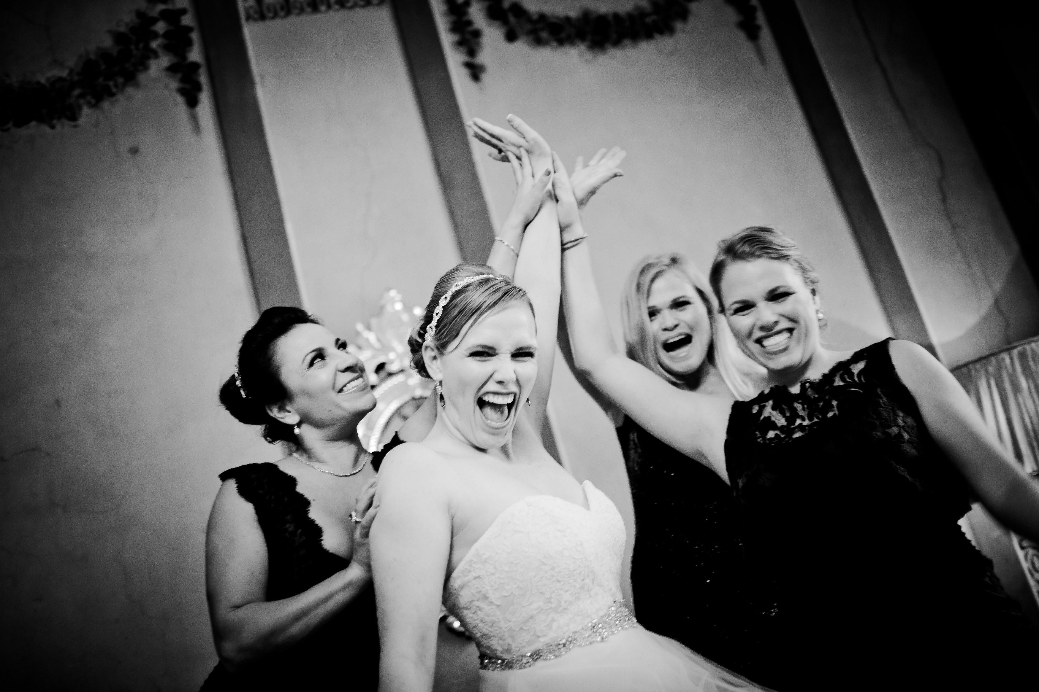 Bryllupsfoto på Fyn